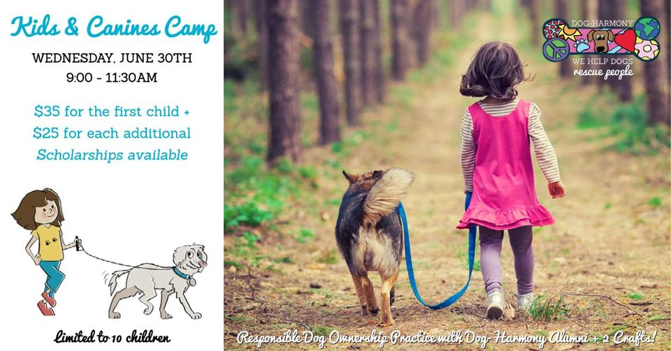 Kids and Canines Camp